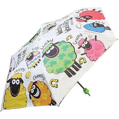 Dublin Gift Wacky Woolies Umbrella, Multicolor