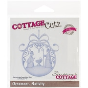 CottageCutz® Elites Universal Steel Die, Nativity Ornament