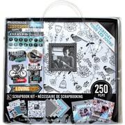 "K&Company™ Scrapbook Kit, 12"" x 12"", Black & White Modern"