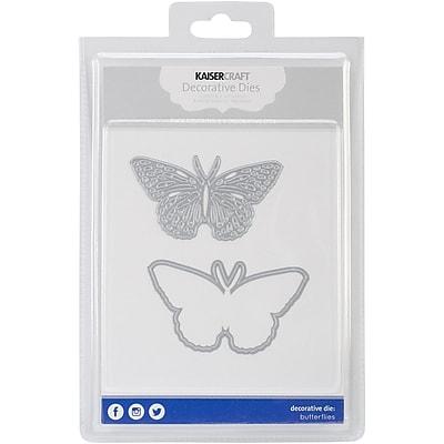 Kaisercraft Steel Decorative Die, Butterflies, 2/Pack