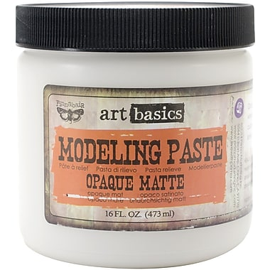 Prima Marketing™ Art Basics Modeling Paste, 16 fl.oz., Opaque Matte