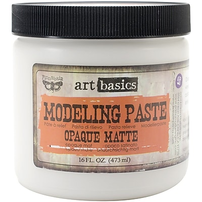 Prima Marketing™ Art Basics Modeling Paste, 16 fl. oz., Opaque Matte