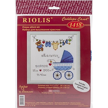 RIOLIS® 28 Count Counted Cross Stitch Kit, 8