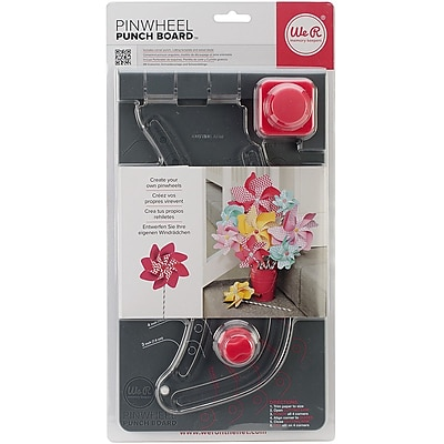 We R Memory Keepers™ Pinwheel Punch Board, 11 1/2