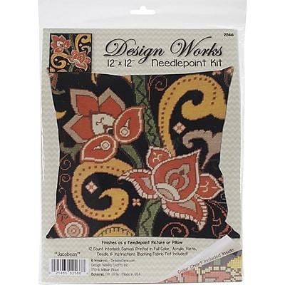 Tobin Stitched In Yarn Needlepoint Kit, 12
