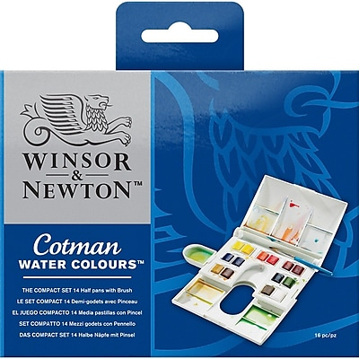 Reeves™ Cotman Watercolor Compact Set, 4 1/4
