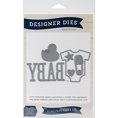 Echo Park Paper Designer Dies Echo Park Die Set, Bundle Of Joy 1514328