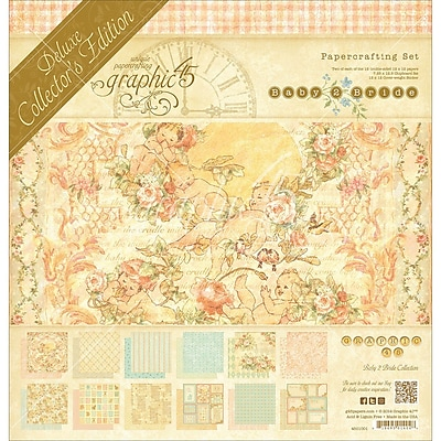 Graphic 45® Deluxe Collector's Edition Craft Paper Pack, 12