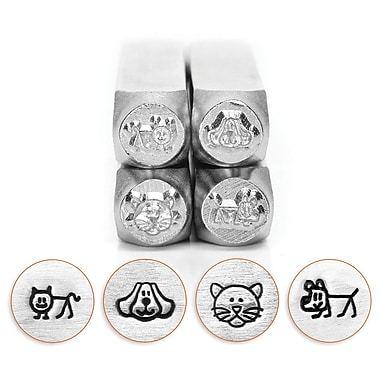 ImpressArt® Design Stamp Pack, Dogs and Cats
