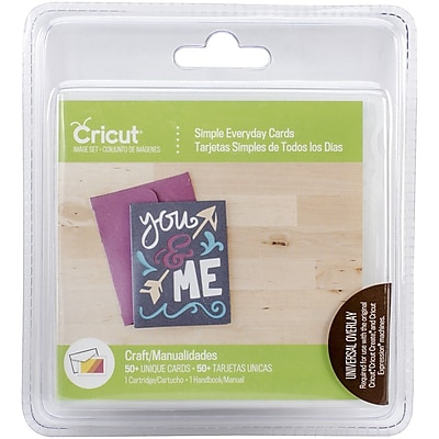 Provo Craft® Cricut™ Card Cartridge, Simple Everyday Cards