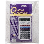 """CALCULATED INDUSTRIES® """"Quilter's FabriCalc Plus Companion Workbook Bundle"""" Book"""