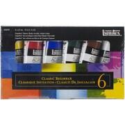 "Reeves™ Liquitex® Heavy Body Acrylic Paint Classic Beginner Set, 6 1/4"" x 3 3/4"" x 1"", Multicolor"