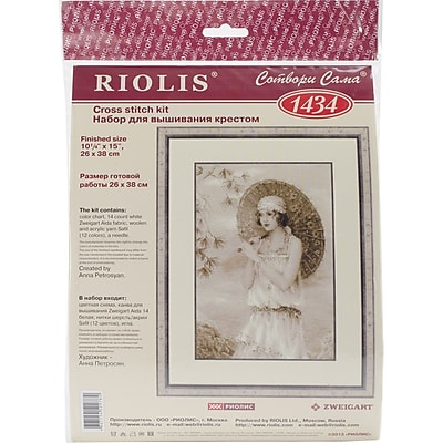 RIOLIS® 14 Count Counted Cross Stitch Kit, 10 1/4