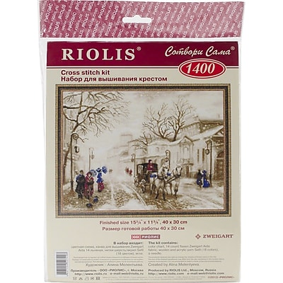 RIOLIS® 14 Count Counted Cross Stitch Kit, 15 3/4