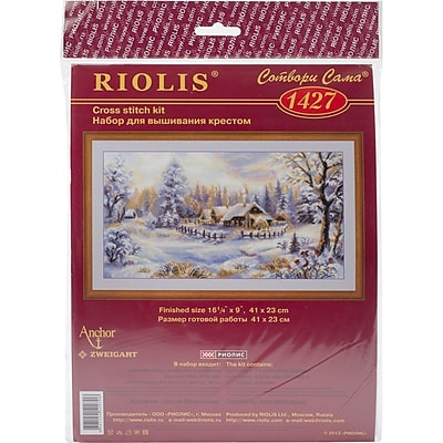 RIOLIS® 14 Count Counted Cross Stitch Kit, 16