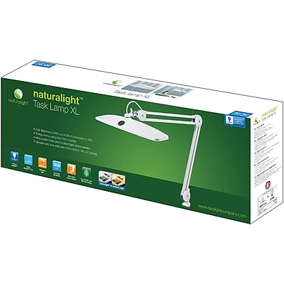 Daylight™ Naturalight™ UN1190 Task XL LED Lamp, White