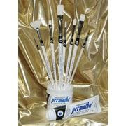 Weber Art Permalba  Intermediate Oil Brush Set (Set of 8)