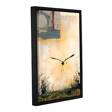ArtWall Good Morning by Elena Ray Framed Painting Print on Wrapped Canvas; 24'' H x 16'' W