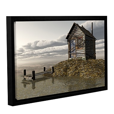 ArtWall Locked Out by Cynthia Decker Framed Photographic Print on Wrapped Canvas; 12'' H x 18'' W