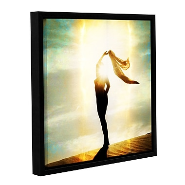 ArtWall Body Light by Elena Ray Framed Graphic Art on Wrapped Canvas; 18'' H x 18'' W