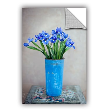 ArtWall Iris Flowers by Elena Ray Art Appeelz Removable Wall Mural; 18'' H x 12'' W x 0.1'' D