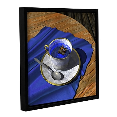ArtWall Infinitea by Cynthia Decker Framed Photographic Print on Wrapped Canvas; 18'' H x 18'' W