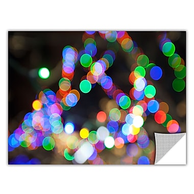 ArtWall ArtApeelz 'Bokeh 1' by Cody York Graphic Art Removable Wall Decal; 16'' H x 24'' W x 0.1'' D