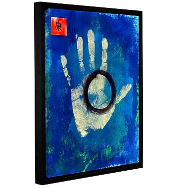 ArtWall Health Hand by Elena Ray Framed Painting Print on Wrapped Canvas; 24'' H x 18'' W