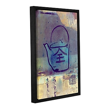 ArtWall Good Tea by Elena Ray Framed Painting Print on Wrapped Canvas; 36'' H x 24'' W