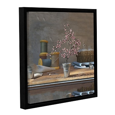 ArtWall Sew Tiny by Cynthia Decker Framed Photographic Print on Wrapped Canvas; 14'' H x 14'' W