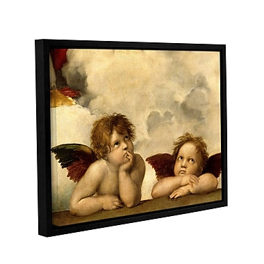 ArtWall Cherubs by Raphael Framed Painting Print on Wrapped Canvas; 36'' H x 48'' W