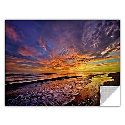 ArtWall ArtApeelz 'The Sunset' by Antonio Raggio Photographic Print Removable Wall Decal