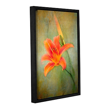ArtWall Reach For Life by Antonio Raggio Framed Graphic Art on Wrapped Canvas; 36'' H x 24'' W