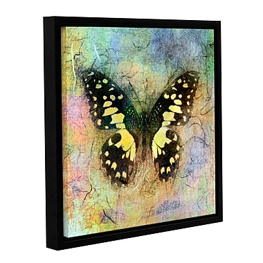 ArtWall Butterfly by Elena Ray Framed Graphic Art on Wrapped Canvas; 24'' H x 24'' W