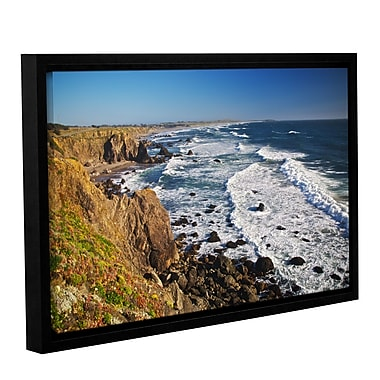 ArtWall Sonoma Coast by Dan Wilson Framed Photographic Print on Wrapped Canvas; 16'' H x 24'' W