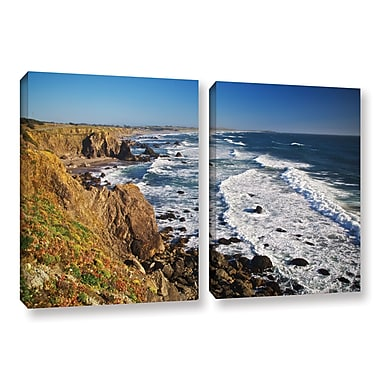 ArtWall Sonoma Coast by Dan Wilson 2 Piece Photographic Print on Wrapped Canvas Set