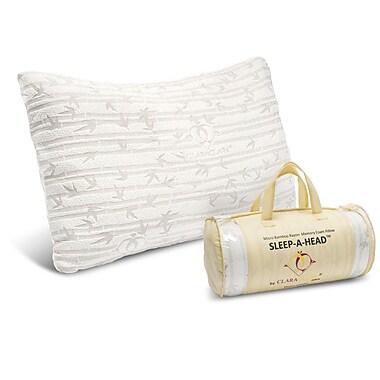Clara Clark Micro Rayon from Bamboo Shredded Memory Foam Pillow; King