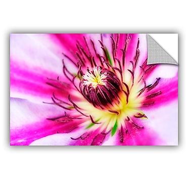 ArtWall Pink Petals by Antonio Raggio Art Appeelz Removable Wall Mural; 12'' H x 18'' W x 0.1'' D