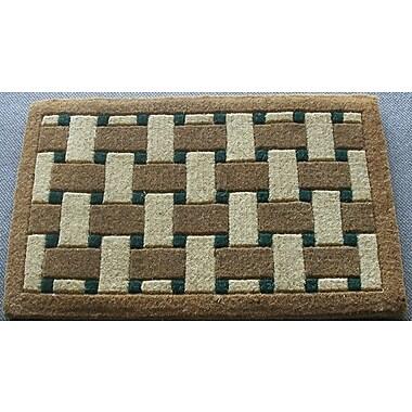 Geo Crafts Inlaid Providence Doormat; Rectangle 1'6'' x 2'6''