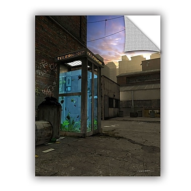 ArtWall Phone Booth by Cynthia Decker Art Appeelz Removable Wall Mural; 24'' H x 18'' W