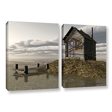 ArtWall Locked Out by Cynthia Decker 2 Piece Photographic Print on Wrapped Canvas Set