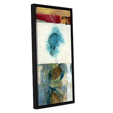 ArtWall Bird Nature by Elena Ray Framed Painting Print on Wrapped Canvas; 36'' H x 18'' W