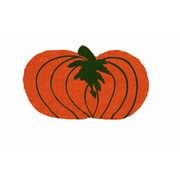 Geo Crafts Pumpkin Shaped Doormat