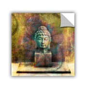 ArtWall Buddah by Elena Ray Art Appeelz Removable Wall Mural; 18'' H x 18'' W x 0.1'' D