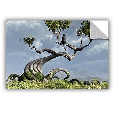ArtWall Sitting Tree by Cynthia Decker Art Appeelz Removable Wall Mural; 16'' H x 24'' W