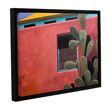 ArtWall Adobe Color by Rick Kersten Framed Painting Print on Wrapped Canvas; 14'' H x 18'' W