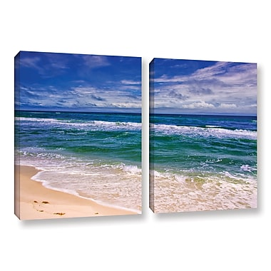 ArtWall Changing Tides by Antonio Raggio 2 Piece Photographic Print on Wrapped Canvas Set