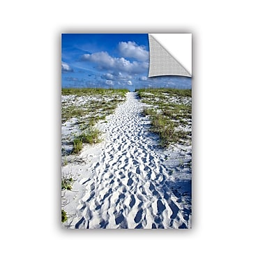 ArtWall Beach Path by Antonio Raggio Art Appeelz Removable Wall Mural; 18'' H x 12'' W x 0.1'' D
