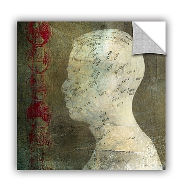 ArtWall Acupuncture by Elena Ray Art Appeelz Removable Wall Mural; 18'' H x 18'' W x 0.1'' D