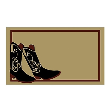 Geo Crafts Boots Doormat